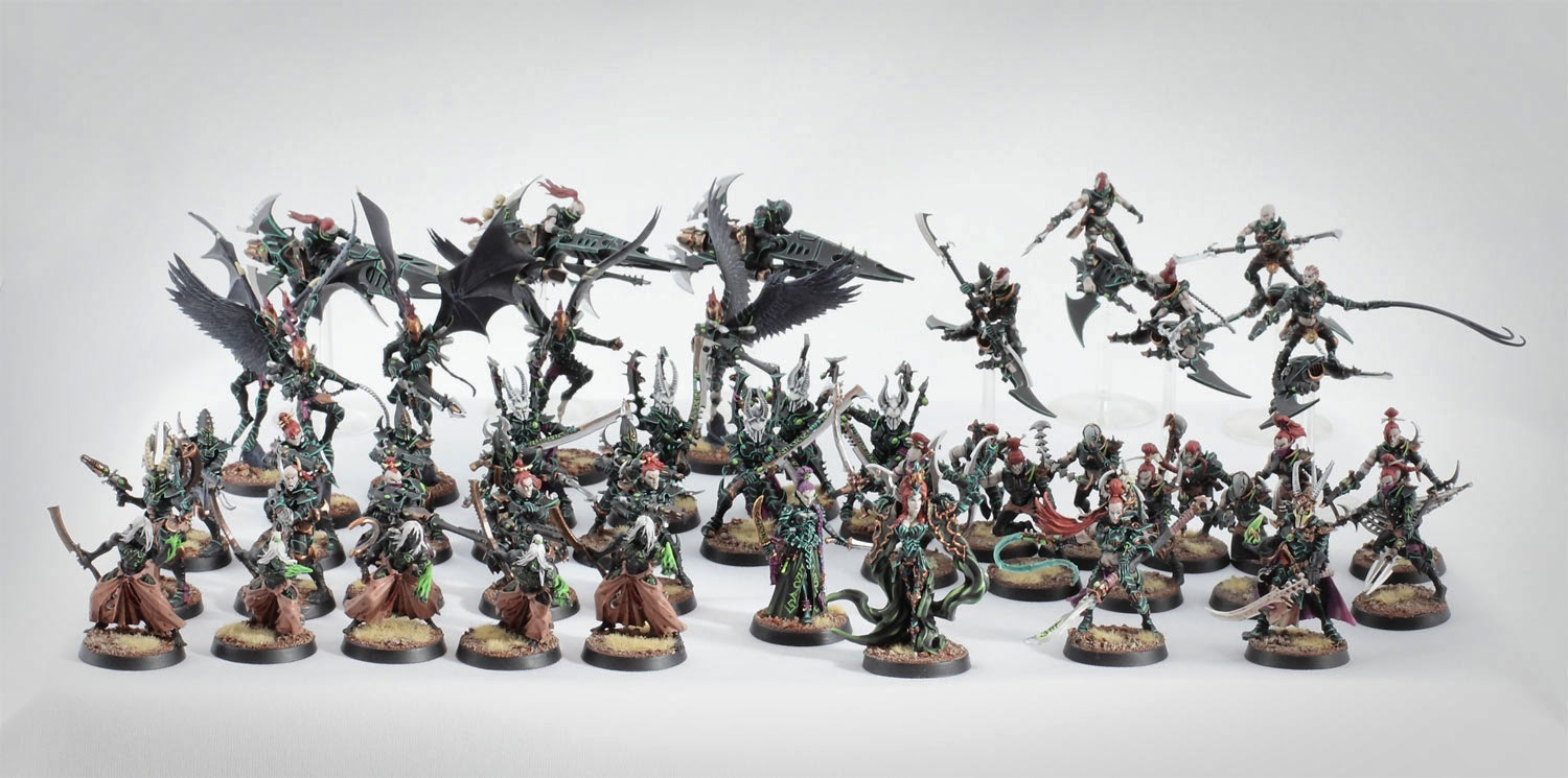 The dark prophet chronicles miniature spotlight my dark eldar army i will be selling a few miniatures on ebay during the next few weeks the auction of my dark eldar army ends today publicscrutiny Image collections