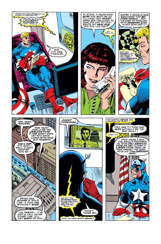 Captain America (1968) Issue #395 #328 - English 4
