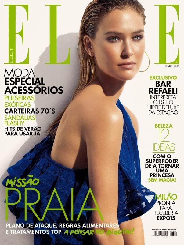 Fashion Model, Actress @ Bar Refaeli by Xavi Gordo for Elle Portugal, May 2015