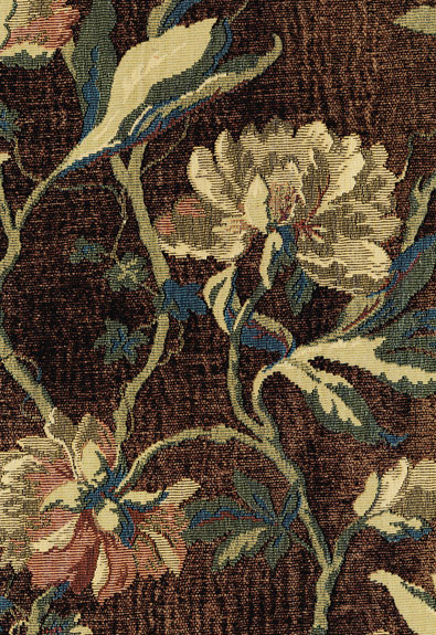 peony tapestry floral fabric