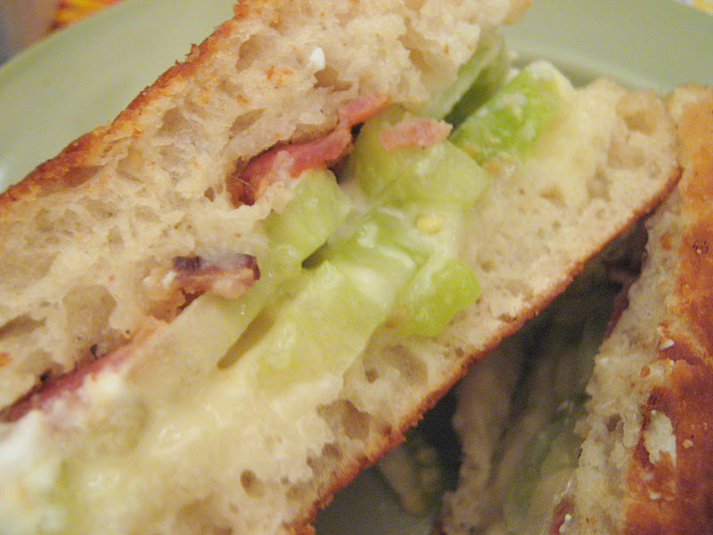 Rindy Mae: Green Tomato & Bacon Grilled Cheese Sammies