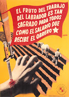 Spanish Republican Ministry of Agriculture poster