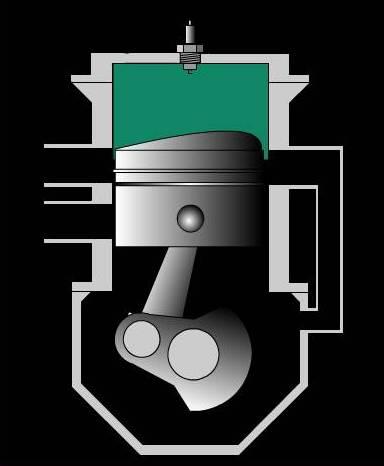 Animasi Mesin Motor 2 Tak - Xpower Penghemat BBM Terbaik