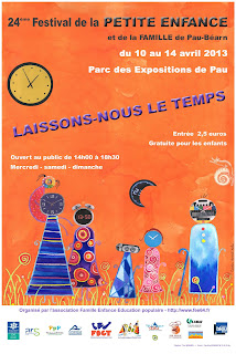 Festival de la Petite Enfance et de la Famille 2013 à Pau