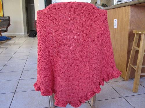 Knitting Pattern For Kate Middleton s Shawl : Sittin & Knittin: KnitSchtick The Kate Shawl (Kate Middleton Sh...