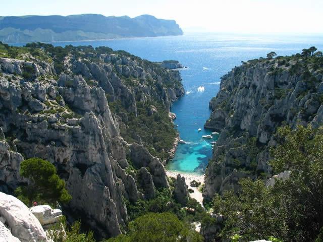 La Calanque de EN-VAU, Cassis, Marseille, France