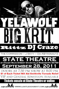 Yelawolf and Big Krit Concert
