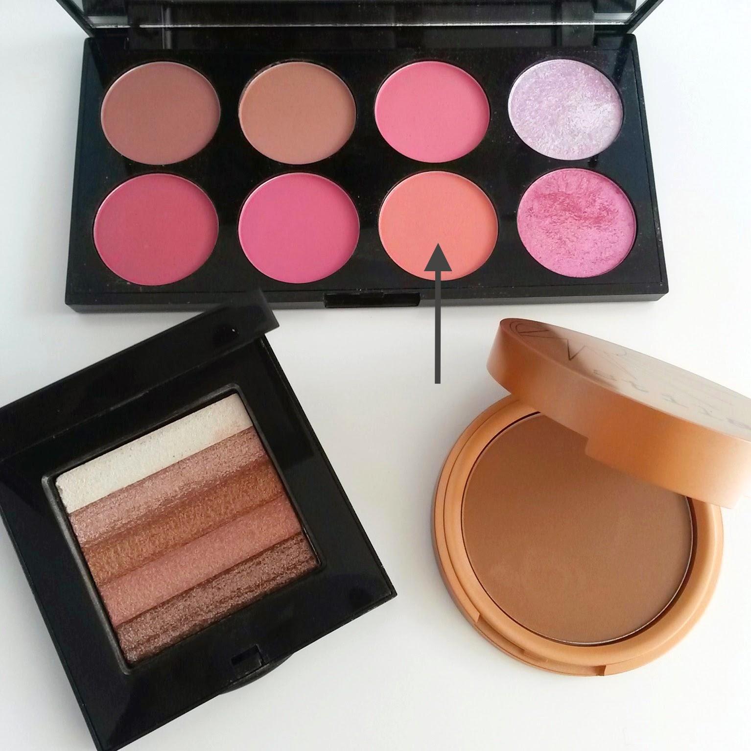 Glowing Bronzed Skin Makeup