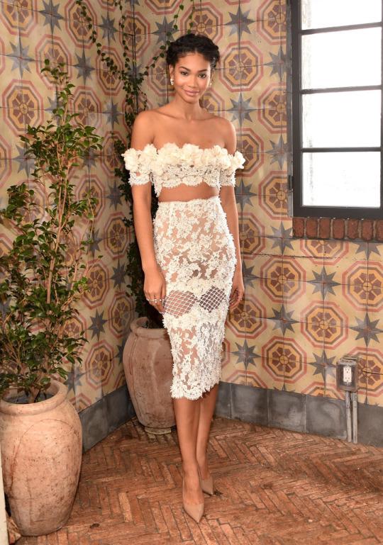 Chanel Iman style