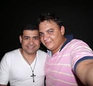 Eu e Batista Lima Cantor da Banda Limão com Mel