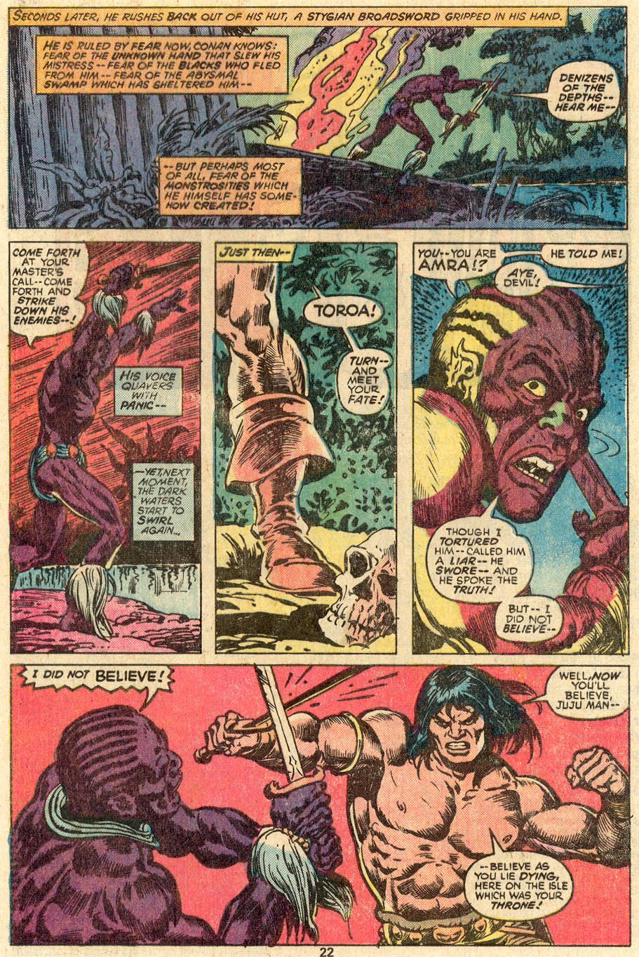 Conan the Barbarian (1970) Issue #83 #95 - English 15