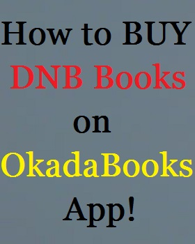How to buy DNB Books on OkadaBooks