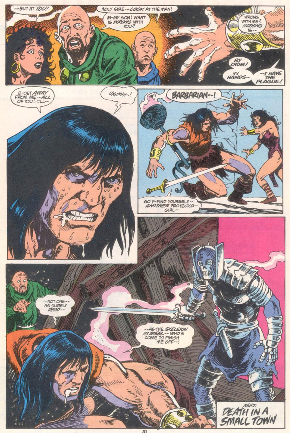 Conan the Barbarian (1970) Issue #255 #267 - English 24