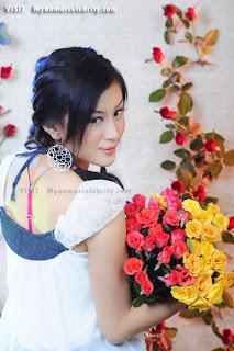 Wut Hmone Shwe Yee myanmar model