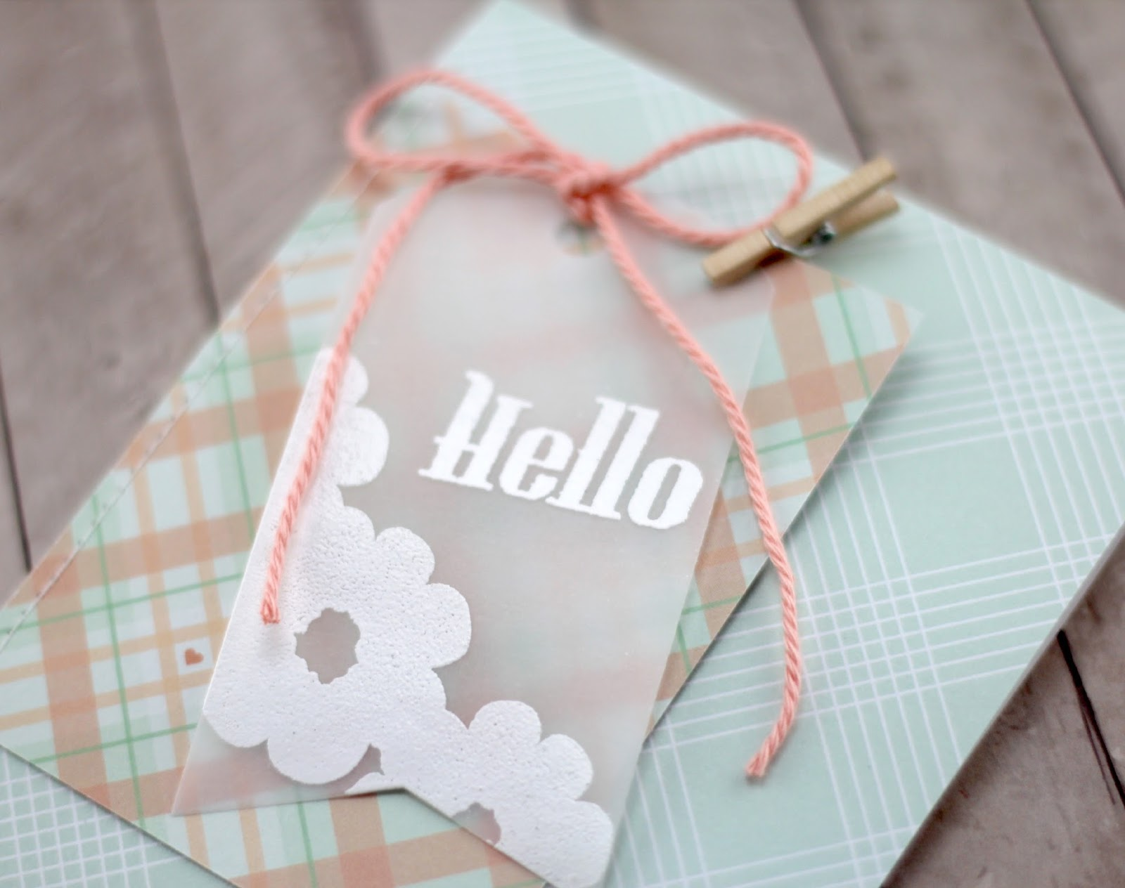 Amy Tsuruta Chickaniddy Date Night Hello Card Close-up