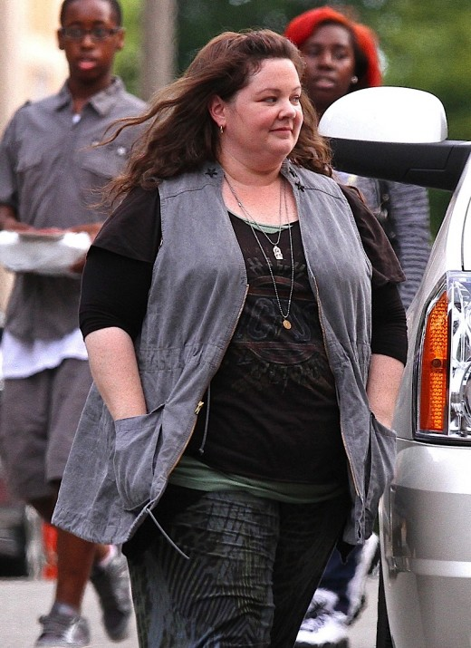 "Melissa McCarthy Is All Smiles On The Set Of ""The Heat"" » Gossip 