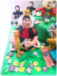 Cherie Kelly's Alice In the Wonderland Cake for Cake International Competition