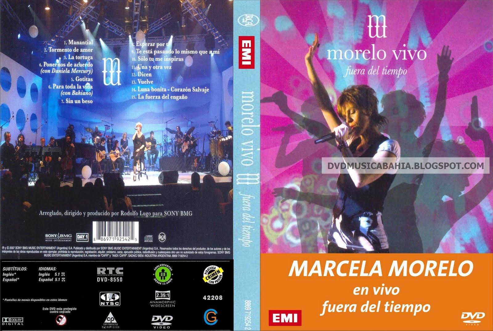 Los mejores dvd de musica y mas marcela morelo for Fuera de tiempo