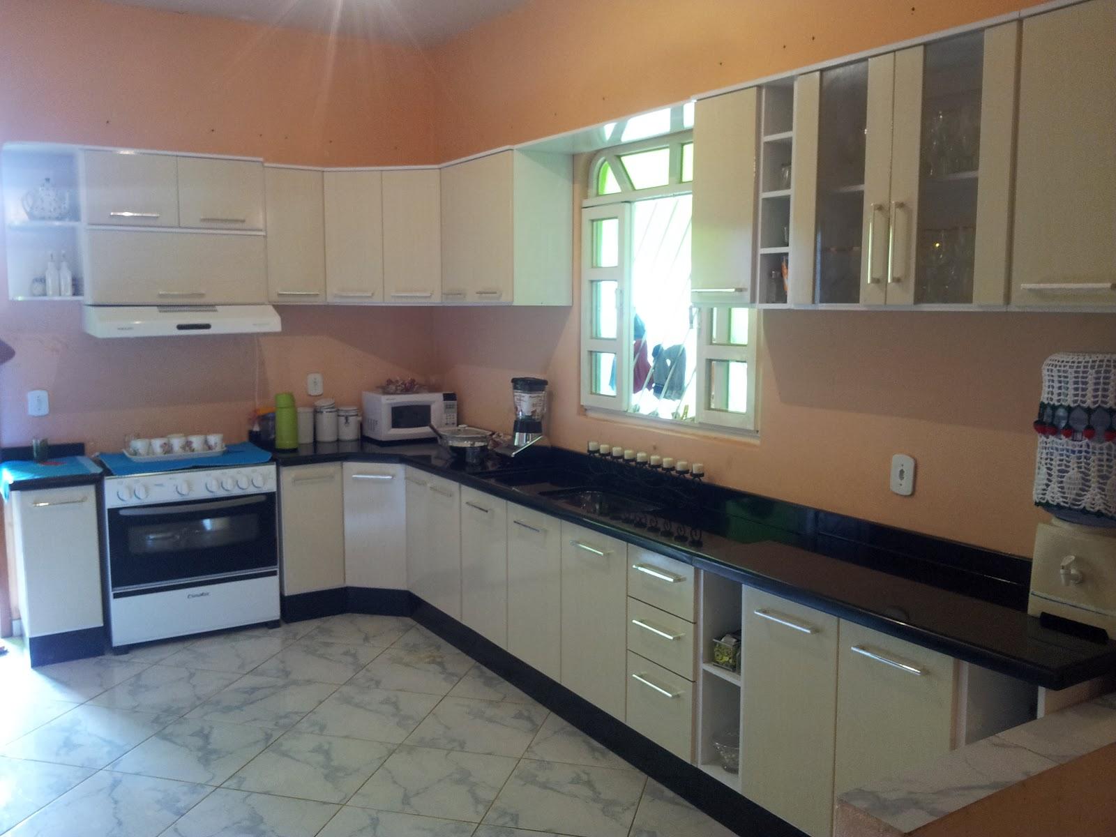 Vidro A O Fevereiro 2012 ~ Cozinha Planejada Preta E Inox