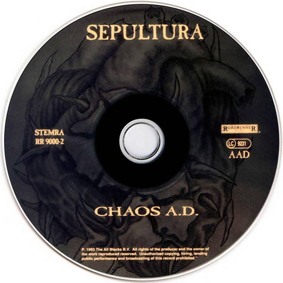 Chaos e KairosSepultura Chaos Ad Album