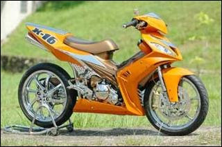 Modif Jupiter mx racing look motor drag jupiter MX