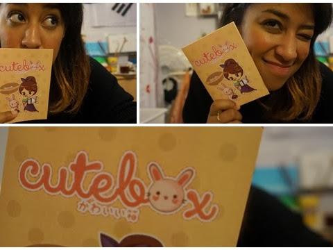 CuteBox Octobre 2013