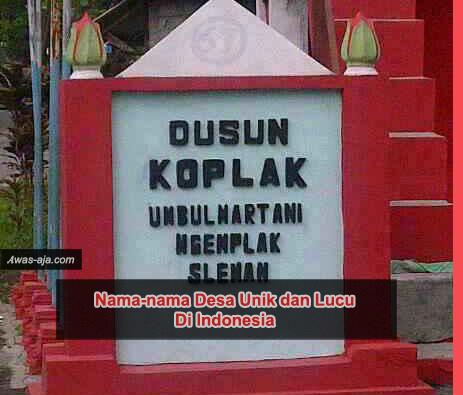 Foto Aneh Lucu Indonesia