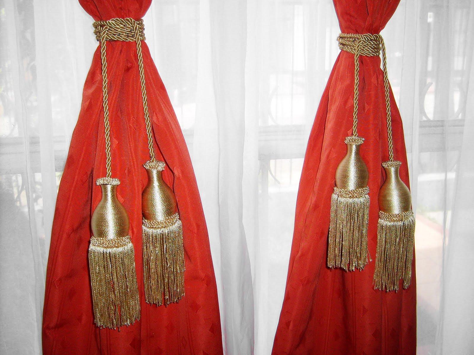 Cortinas para el hogar ideas para hacer borlas para cortinas - Ideas para hacer cortinas ...