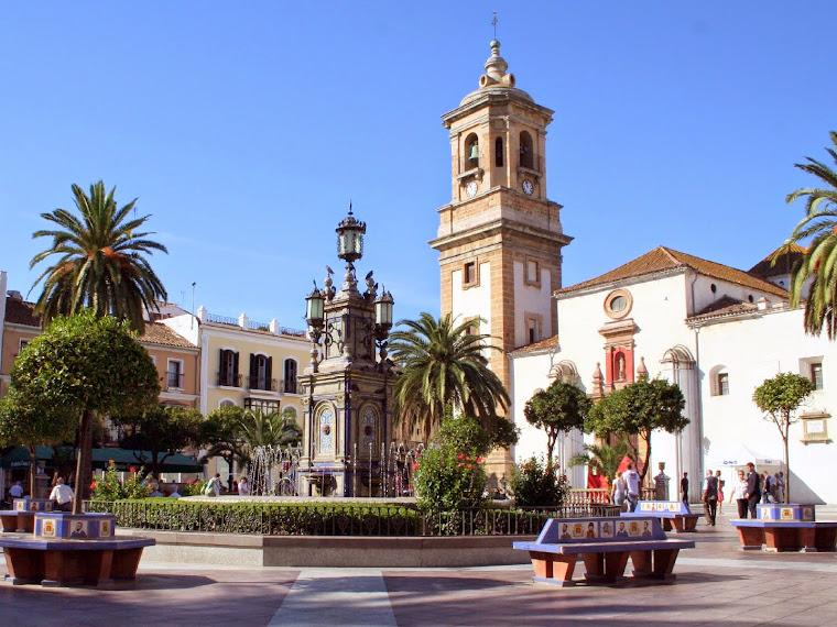 La Plaza Alta de Algeciras, España.