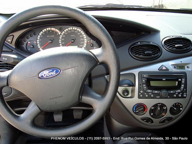 Ford Focus Hatch 2009 GLX 1.6 Flex - interior - painek