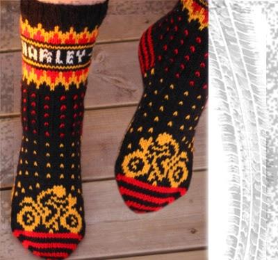 Motorsykkel sokker