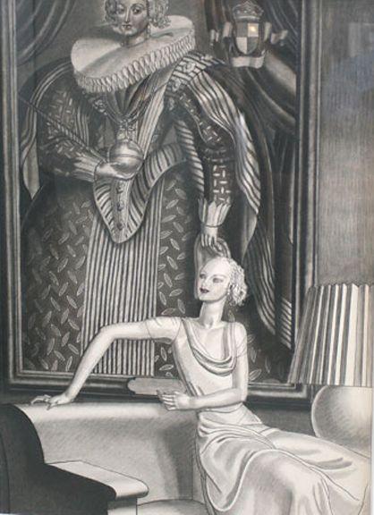 Jean Théodore Dupas woman portrait