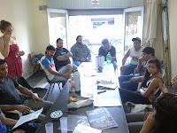 La Cámpora Berisso realizó un taller de formación política junto a los compañeros de Magdalena