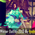 Party Wear Outfits 2013 By Feeha Jamshed | Latest Winter Dresses 2013 For Women By Feeha Jamshed