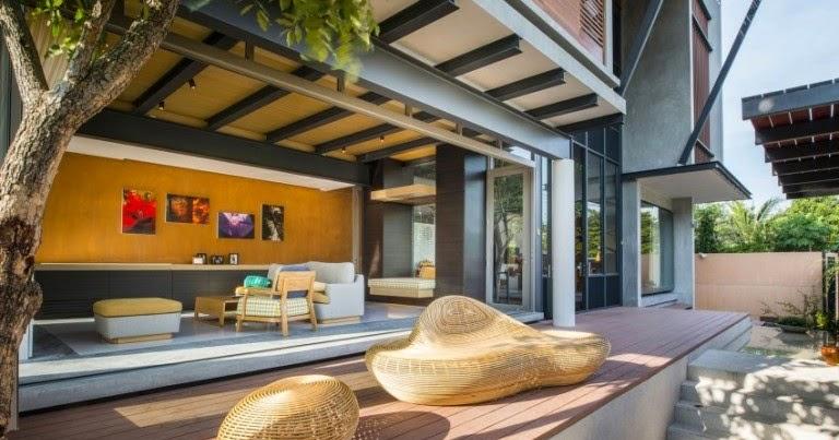 Dise o de interiores arquitectura casa moderna con for Casa moderna 2014 espositori