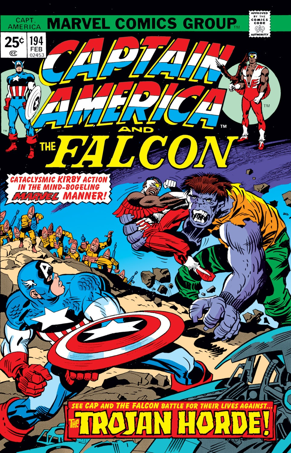 Captain America (1968) Issue #194 #108 - English 1