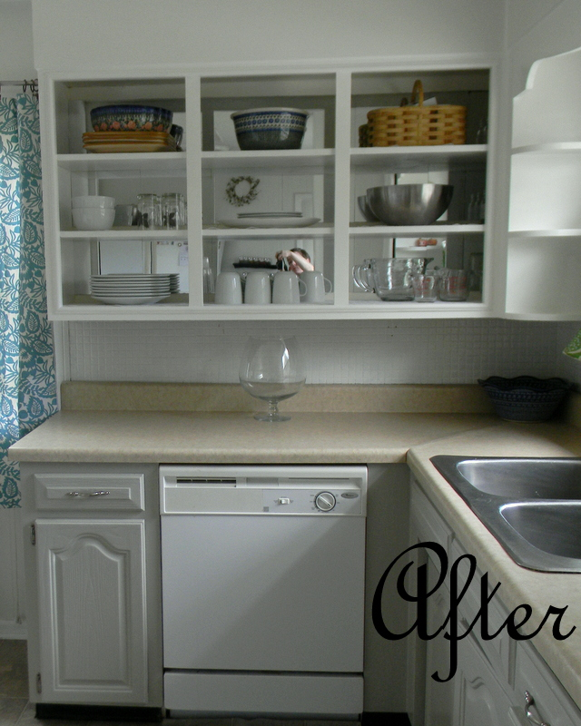 Simply Homemade: Kitchen Face Lift