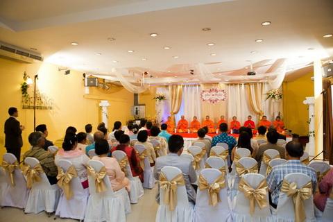 พิธีทางศาสนาในงานแต่งงานแบบไทย