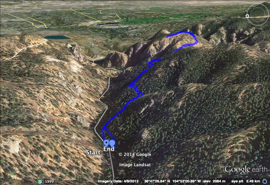 Go hike colorado mt cutler trail north cheyenne canon park the mt cutler trail is a great way to experience north cheyenne canon the trail is easy going and snakes its way up the south slopes of the canyon publicscrutiny Images