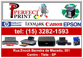 Perfect Print Cartuchos Rua. Enock Barreira de Macedo, 351 - Centro - Tiete - SP Tel: (15) 3282-159
