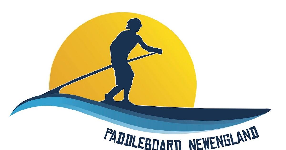 Hazel Eyes Studio: PaddleBoard NewEngland Logo