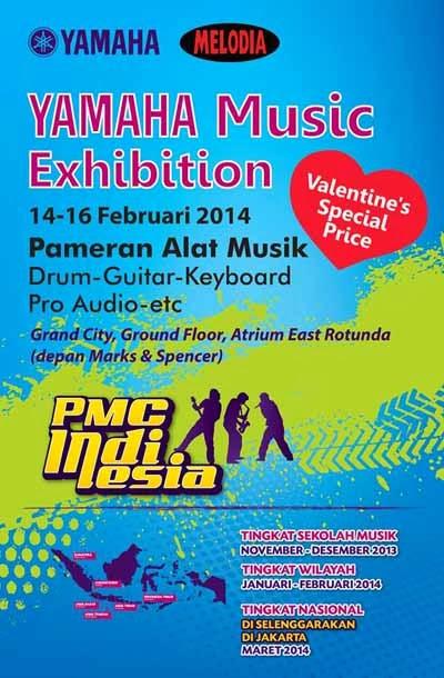 Yamaha Music Exhibition (Pameran Alat Musik n Promo Spesial Valentine)