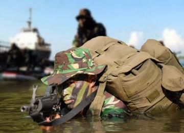 Pasukan Elite TNI Gelar Latihan Bersama di Batam