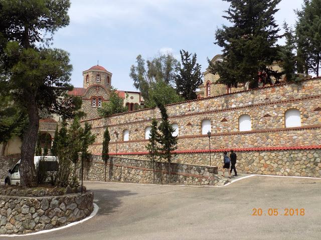 Μικρό ιστορικό της Ιεράς Μονής Παναγίας Χρυσοπηγής