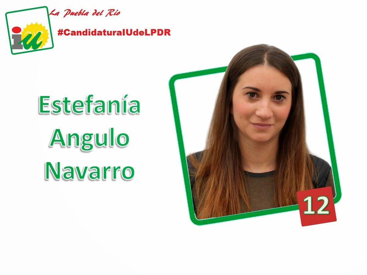 #CandidaturaIUdeLPDR Estefanía Angulo