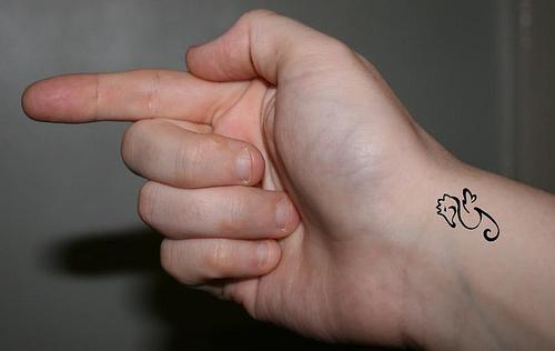 Small Cross Tattoos For Girls Beautiful Art