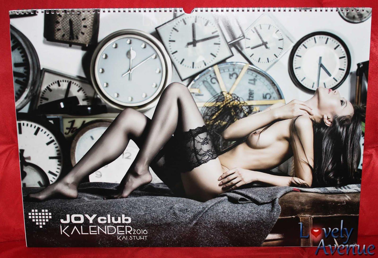 Ich verlose drei Exemplare des Joy Club Kalenders für 2016