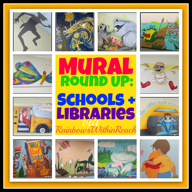 photo of: Murals in Schools and Libraries (RoundUP via RainbowsWIthinReach)