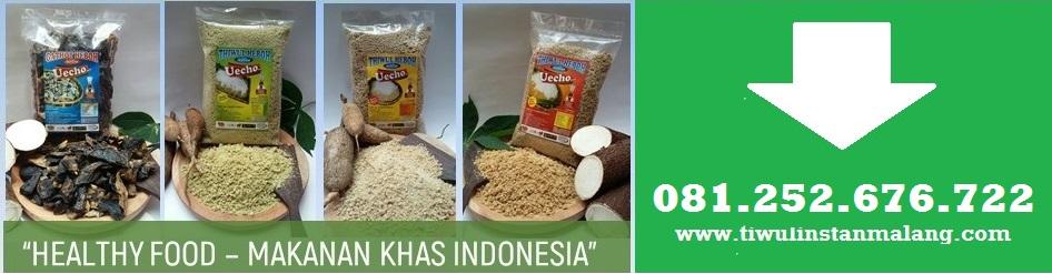Produsen Tiwul Instan Malang,Original,Pandan,Gula Merah,Gerit Jagung,Jual,Pabrik