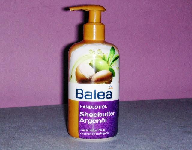 Balea Handlotion Sheabutter Arganöl - balsam do rąk arganowy